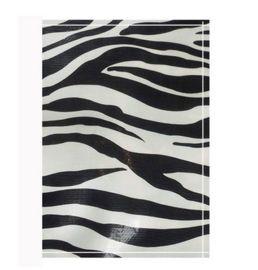 Autopapierenmapje met zebraprint.