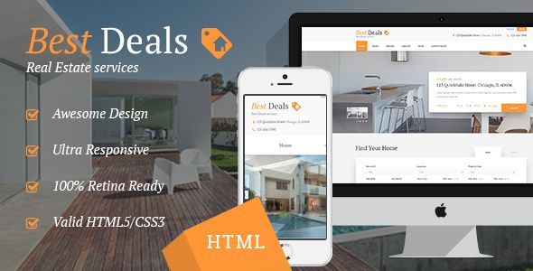 cool Most effective Offers | House Sales &amp Rental Web-site Template (Small business)