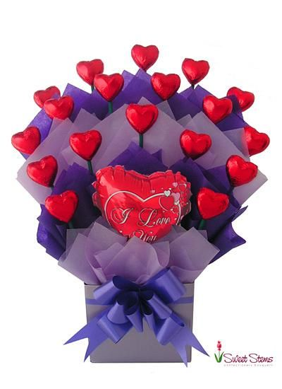 17 Best Ideas About Chocolate Bouquet On Pinterest Candy