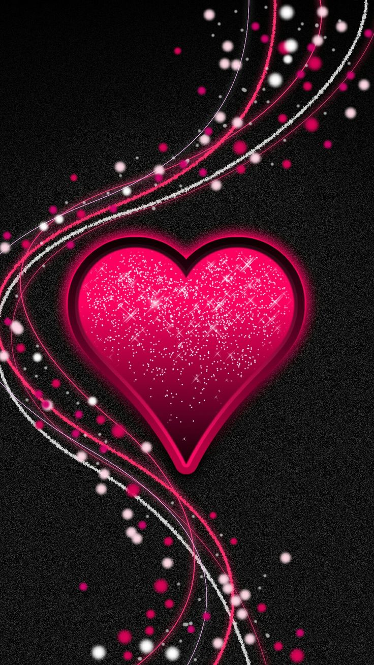 Pretty Wallpapers Mobile Wallpaper Backgrounds Cell Phone Wild Hearts Heart Art Christmas 2016 Alphabet February