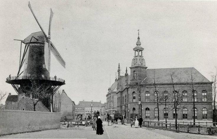 Breda Breda Het van Coothplein rond 1900