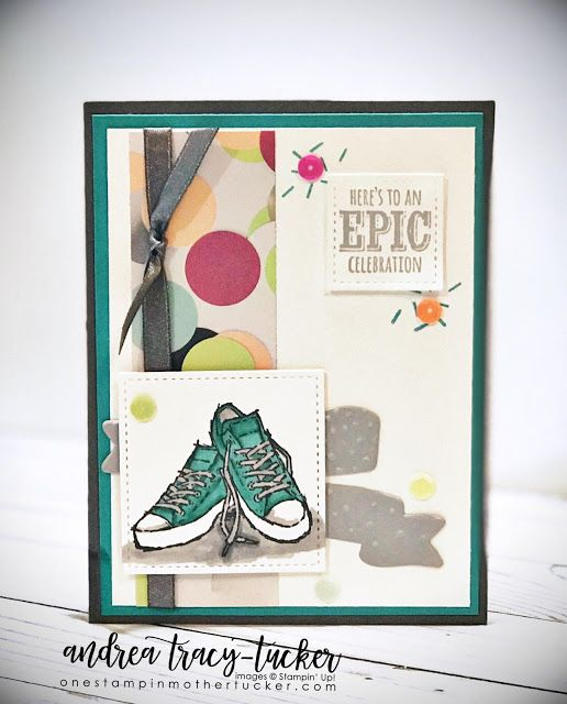 One Stampin' Mother Tucker: TGIF Challenges 147 Sale A Bration Inspiration