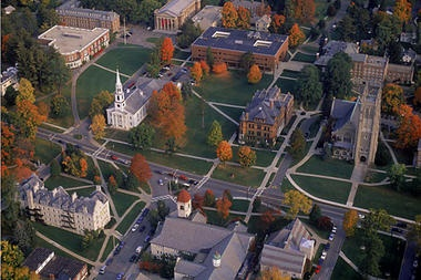 The Williams College campus.
