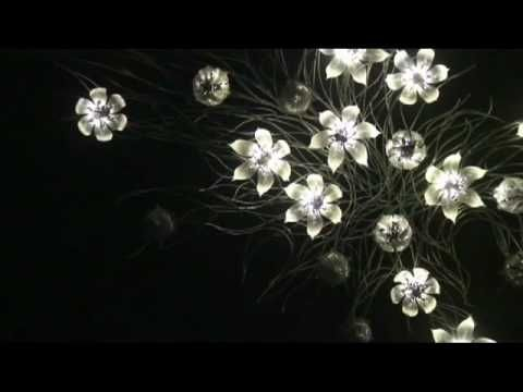 """Una Lumino Portentum"" (2008) by U-Ram Choe - YouTube Flowers opening closing LED"