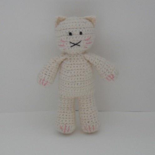 Crocheted Cat £8.75