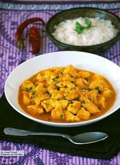 Receta de pollo al curry en 10 minutos