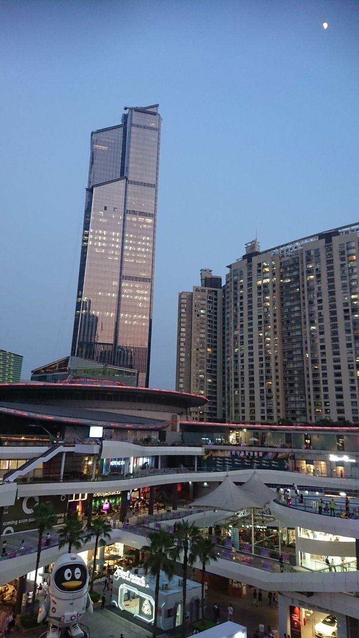 #深圳 #購物中心站 #星河coco park