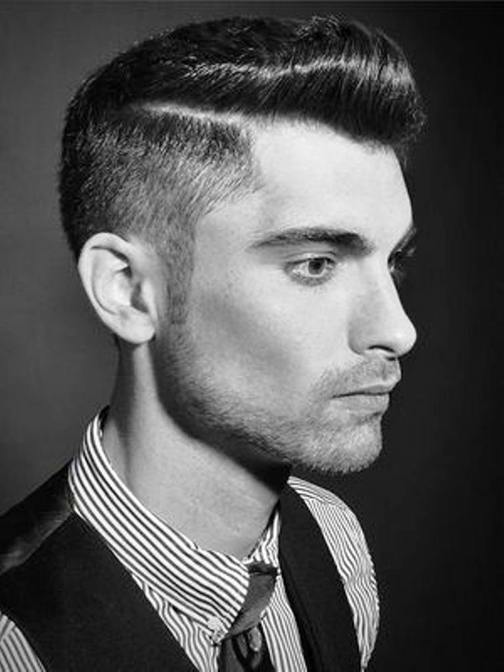 Men's Hair Style fatherly Around Year 50′s : 50s Hairstyles Men 1