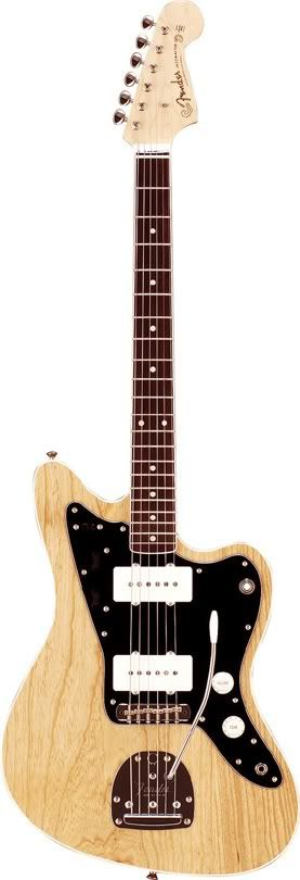 Fender Japan hollow body Jazzmaster natural finish. thinline and awesome