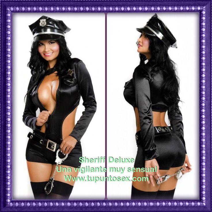 Disfraces de policías para mujeres. Encuéntralos en www.tupuntosex.com