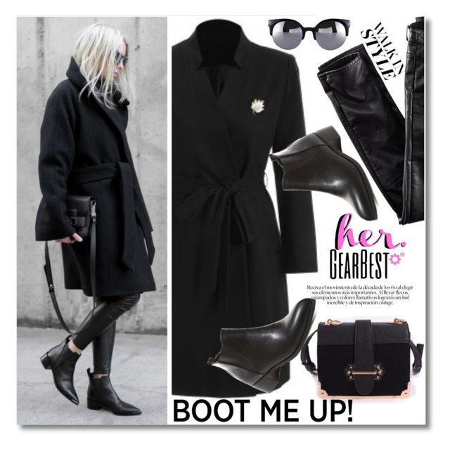 """Kick It: Chelsea Boots"" by svijetlana ❤ liked on Polyvore featuring H&M, polyvoreeditorial and chelseaboots"