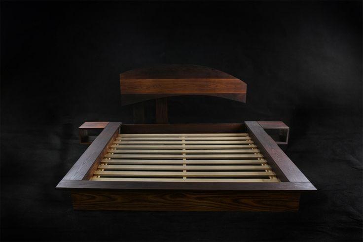 Japanese Platform bed by Cameron Hird