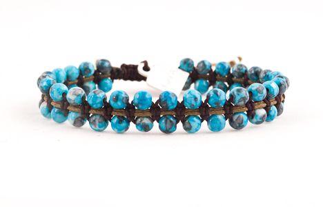 blue agate Kath bracelet