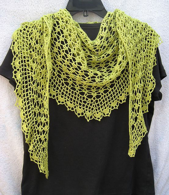 Ravelry: pwijtmans' lime green lacy sprigs
