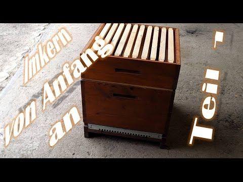 Imkern von Anfang an - Teil 1 - Grundausstattung Magazinimkerei Dadant - Bienen für Anfänger - YouTube