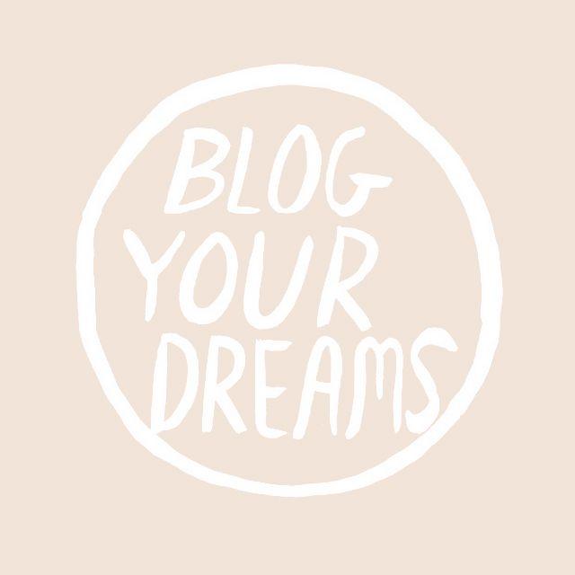 blog your dreams!!~