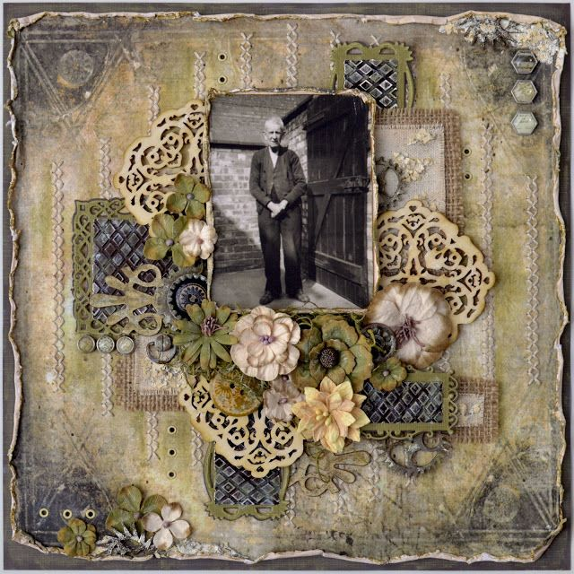 Prima's Timeless Memories Collection. My Funky Scrapbook Blog: Great-Grandfather John