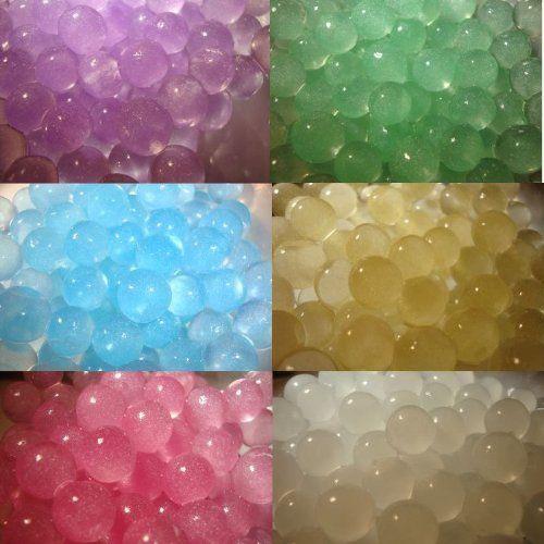 PK  Metallic Water Beads Wedding Flower Feeding Crystals Pastel Coloured Vase Plant Parties: Amazon.co.uk: Kitchen & Home