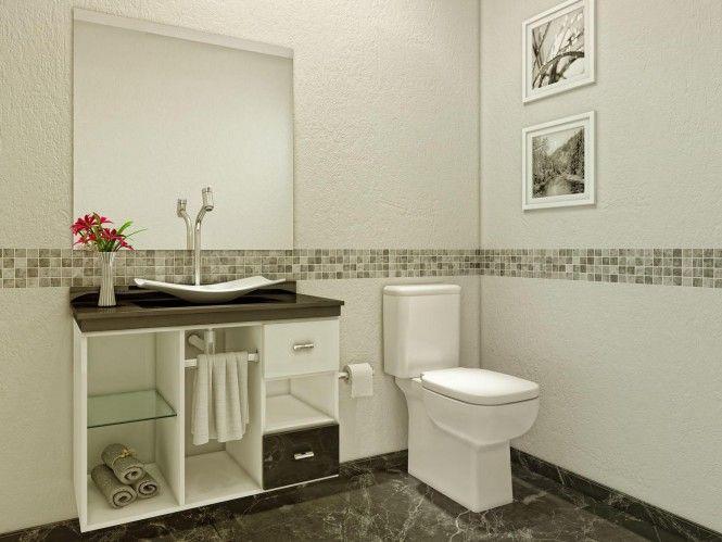 17 Best ideas about Gabinete Para Banheiro on Pinterest  Gabinete para banhe -> Cuba De Apoio Para Banheiro Herval Ravenna