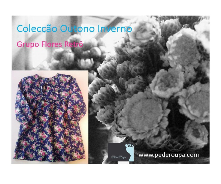 Vintage flowers lace dress