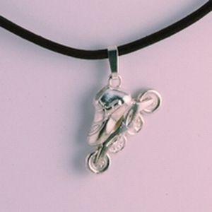 Speedskate necklace - jewelry