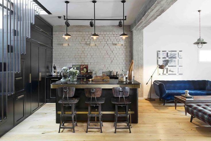 La cuisine constitue un prolongement naturel de la pièce où se trouvent le séjour et la salle à manger