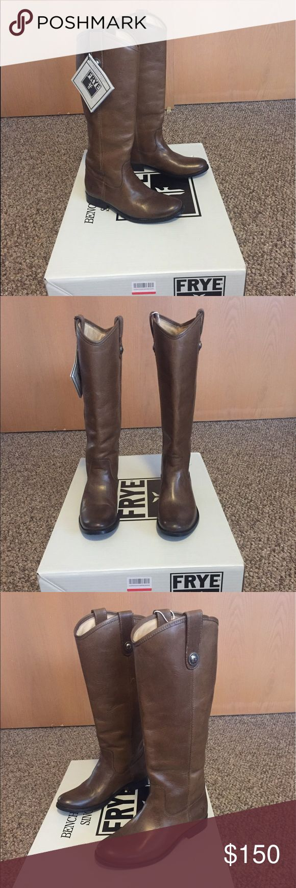 Melissa frye boots size 6 taupe new with box Never worn, brand new with box frye melissa boots Frye Shoes Ankle Boots & Booties