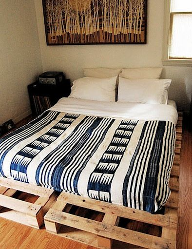 Wood Pallet Bed Great For The Teens In Your Life Love