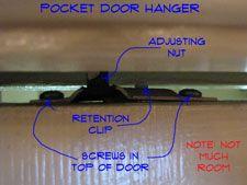 Removing Pocket Door Rollers   Pocket Doors   Interior Doors   Doors   Repair Topics