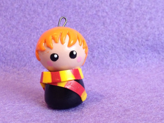 Chibi: Ron Weasley from Harry Potter.