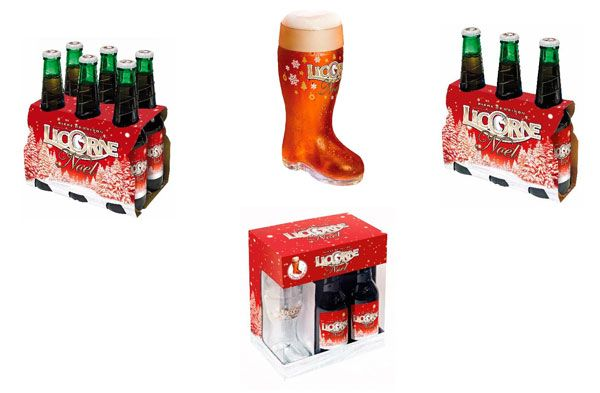 La bière Licorne Noël dans sa nouvelle parure #biere #Alsace #gastronomie