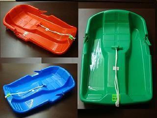 3)SANKI PLASTIKOWE Z HAMULCEM -ŚLIZG