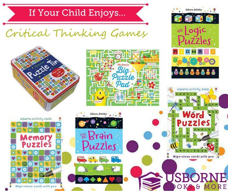 Best of Usborne Critical Thinking Books