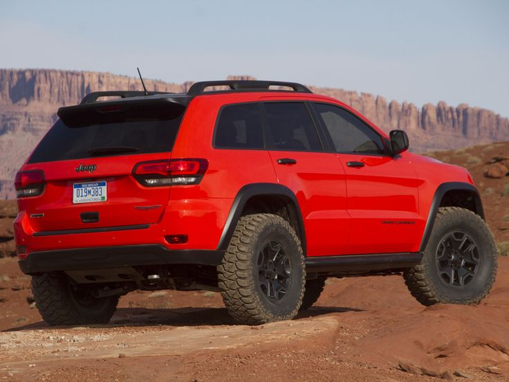 Jeep Grand Cherokee 2004? Trail Hawk. Test vehicle?