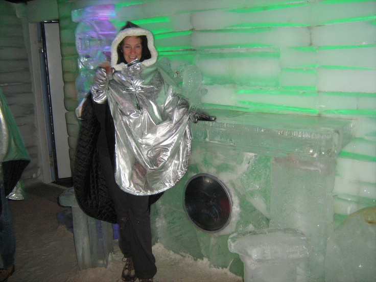 Hanging out at the ice #bar in El Calafate, #Argentina.