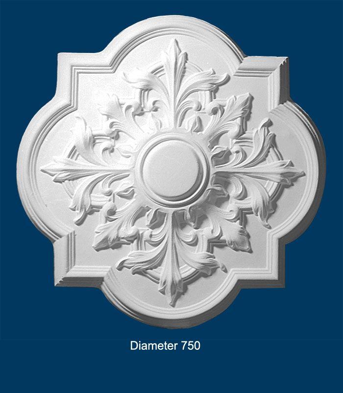 Decorative Plaster Ceiling Centre BCT 009