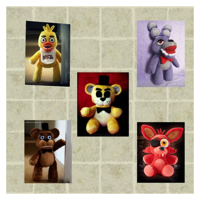 """""""fnaf Plushies! (first Game)"""" By The-insaine-animatronic"""