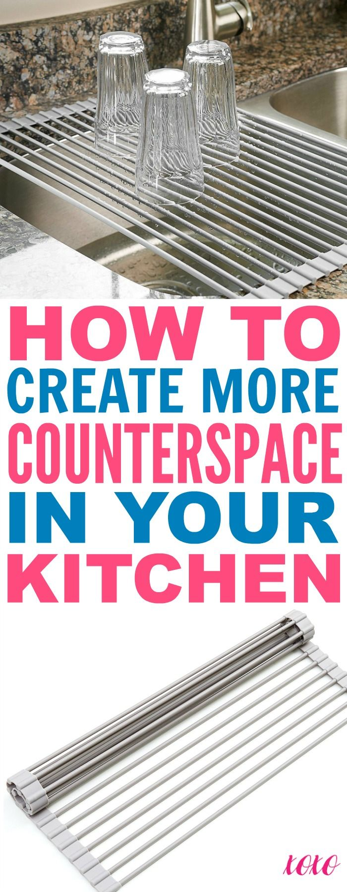 9 Simple Ways To Create More Counter Space In Your Tiny Kitchen - That Vintage Life