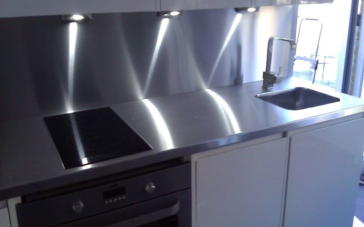 Custom Made Stainless Steel Kitchen Worktops, UK Home Delivery