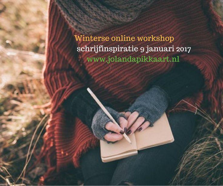 Online workshop: Schrijfinspiratie! Laat je 12 weken inspireren met schrijfoefeningen en inspiratietips. Wil jij meer ook inspiratie? Meld je dan aan.