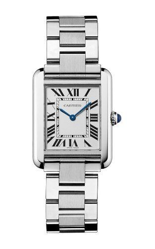 "Cartier Women's W5200013 ""Tank Solo"" Stainless Steel Dress Watch  www.womenswatchhouse.com"