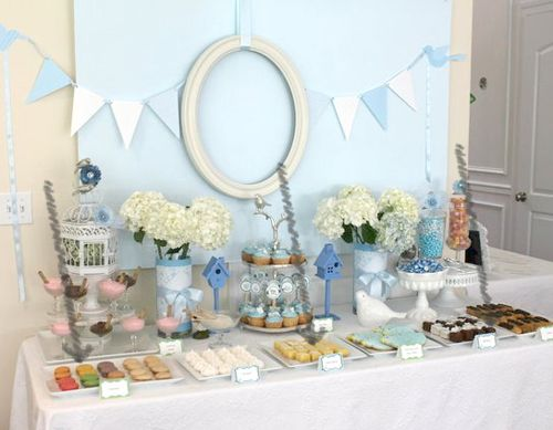 53 best images about baby shower on pinterest frog baby for Mesa baby shower nino