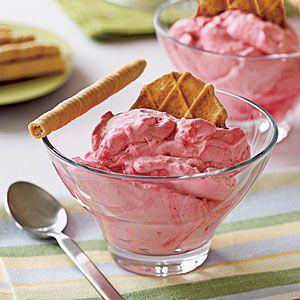 5-Ingredient Desserts | Raspberry Mousse | MyRecipes.com