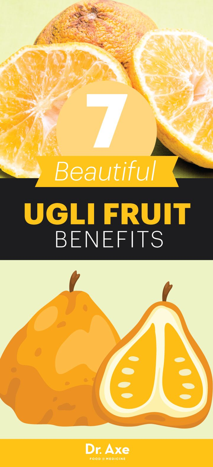 It doesn't seem very nice to name a fruit based on its appearance, but I'm going to let it slide this time with ugli fruit — because this very unattractive fruit is only ugly on the surface.