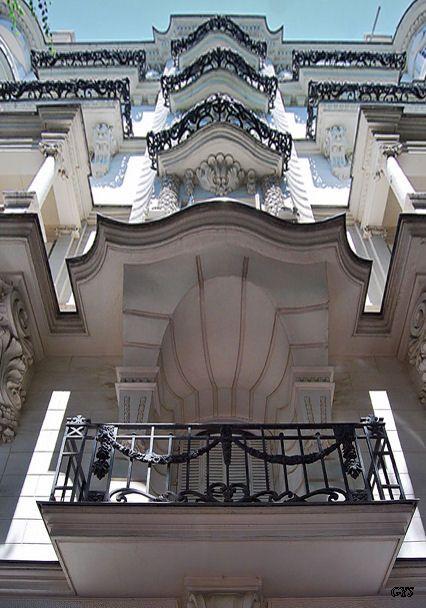 Balcones Art Nouveau, Madrid