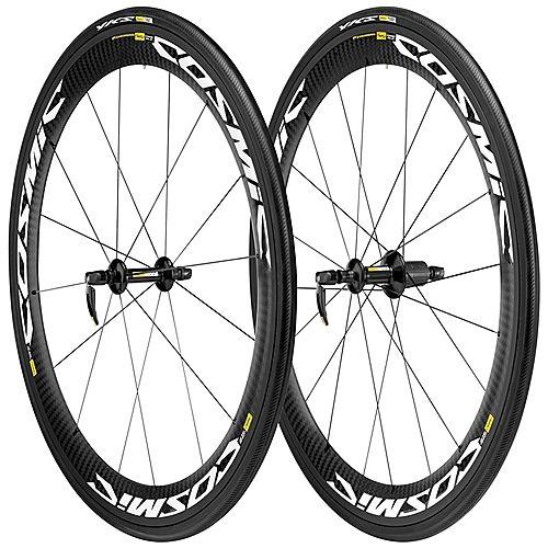 Mavic Cosmic Carbone SLE Clincher Wheelset - 2013: Total Cycling