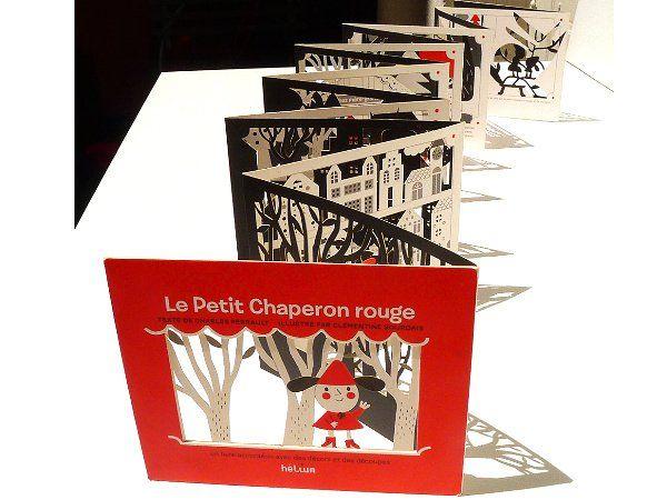 Červená karkulka v originální podobě - jako stínové divadlo. Exkluzivní publikace od francouzského nakladatelství Hélium. Věk: 3 +