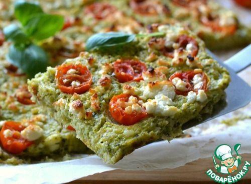 Пицца диетическая без теста - кулинарный рецепт