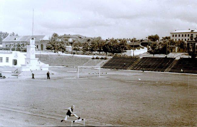 Стадион в Иваново - старые фото