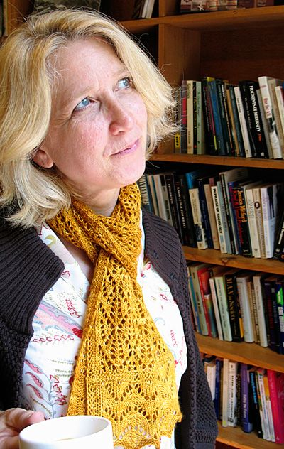 Kernel scarf - Knitty: Fall 2009